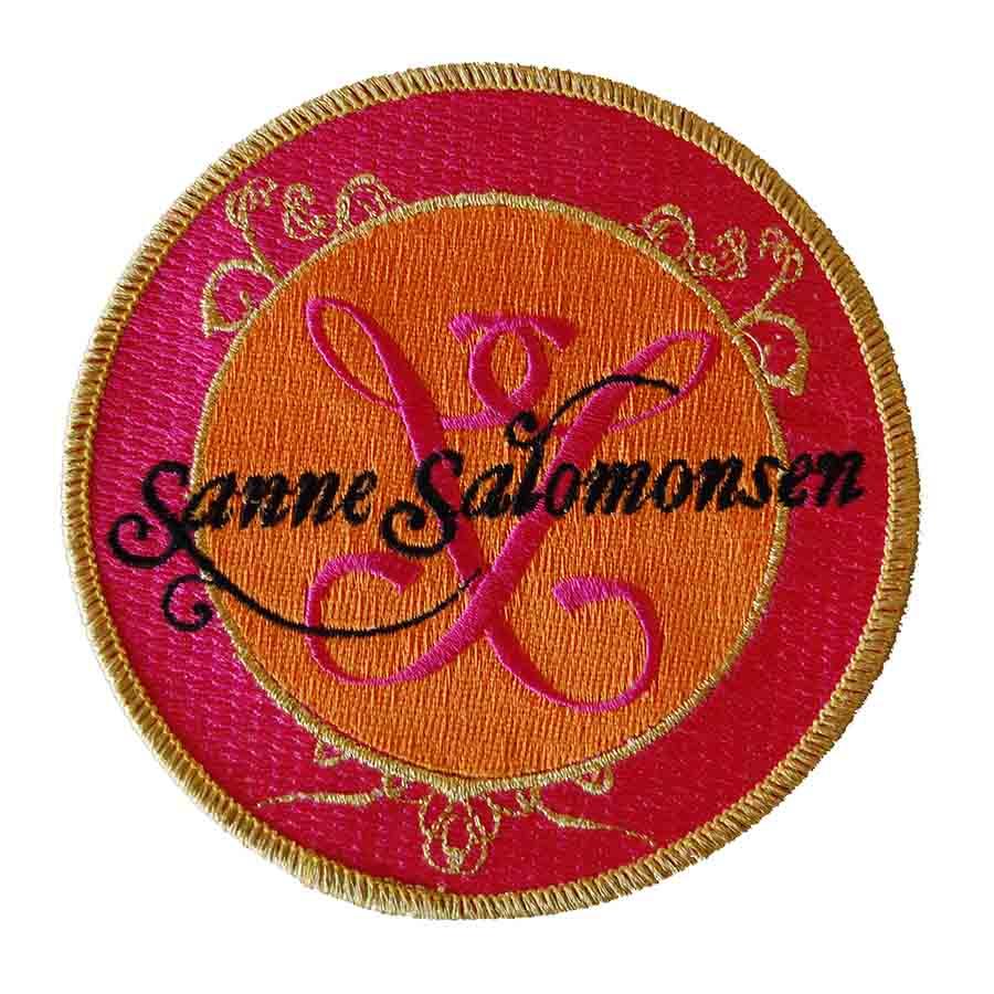 Badge med firma logo