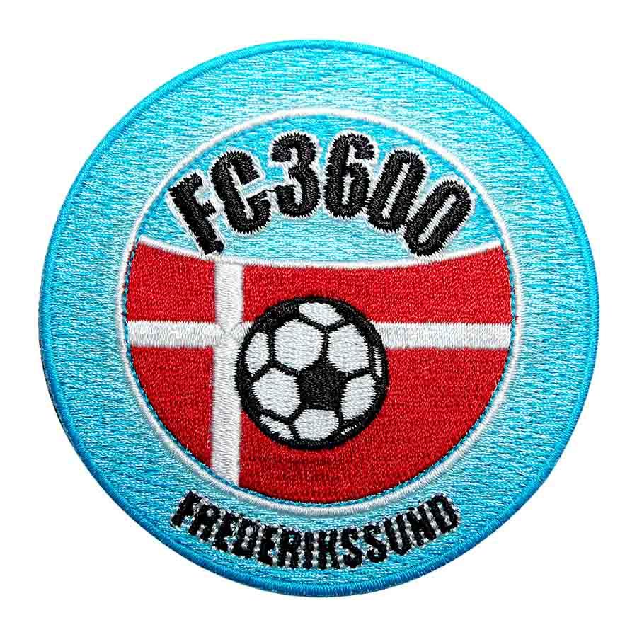 Forenings badge med logo