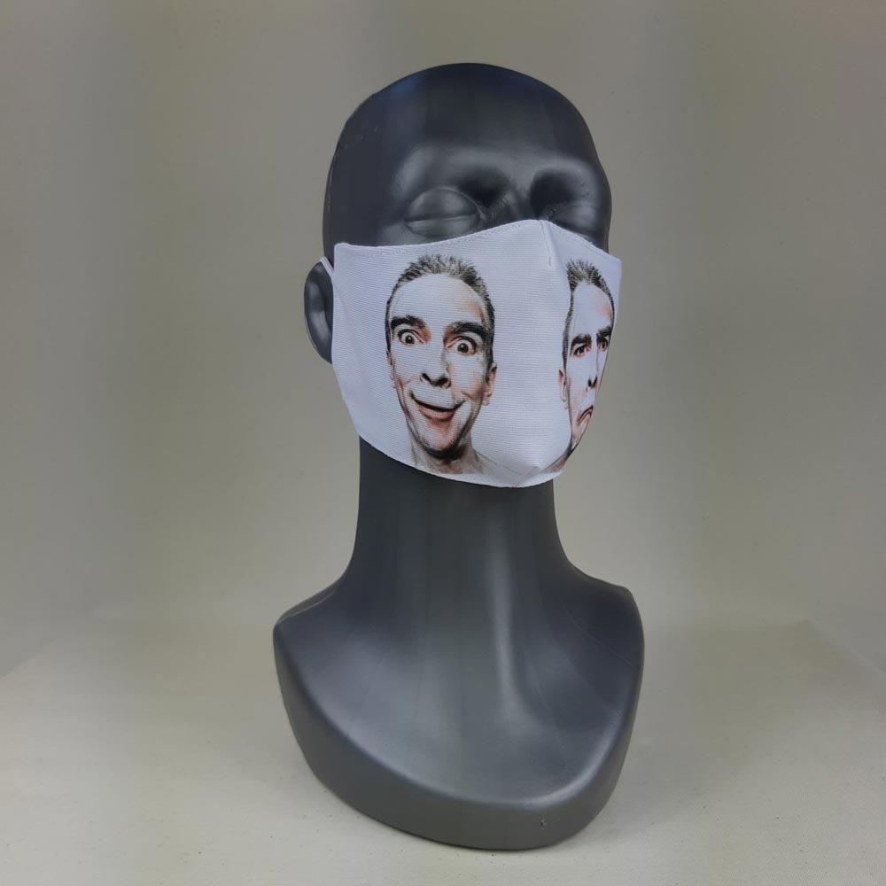 Stof ansigtsmaske med eget tryk og logo